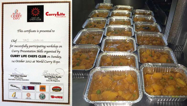 curry life award 2012